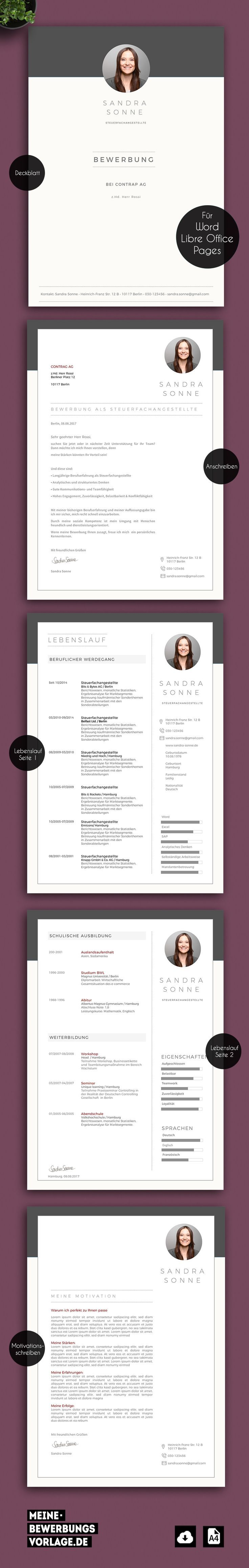 Bewerbung Jobsuche Template Vorlage Bewerbungsvorlage Muster Cv Word Pages Ap Bewerbung Anschreiben Vorlage Lebenslauf Bewerbung Anschreiben