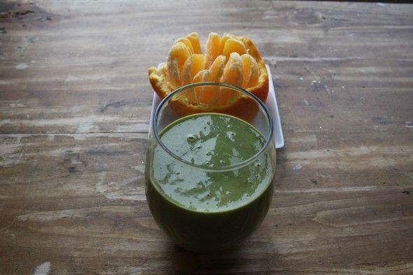 Smoothie « petit déjeuner dans un verre »