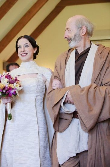 A Star Wars wedding done right - always remember is about the two of you!!!