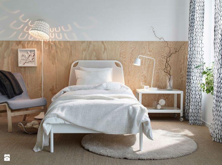 Die besten 25+ Sperrholz kopfteil Ideen auf Pinterest Ikea lampe - schlafzimmer wei ikea