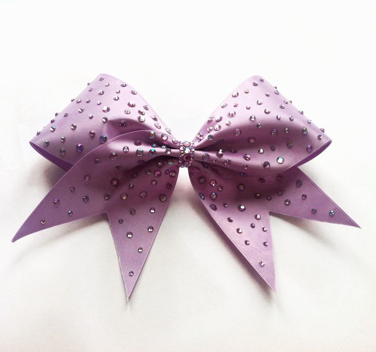Orchid Bow. Violetta Collection. KL Bows x