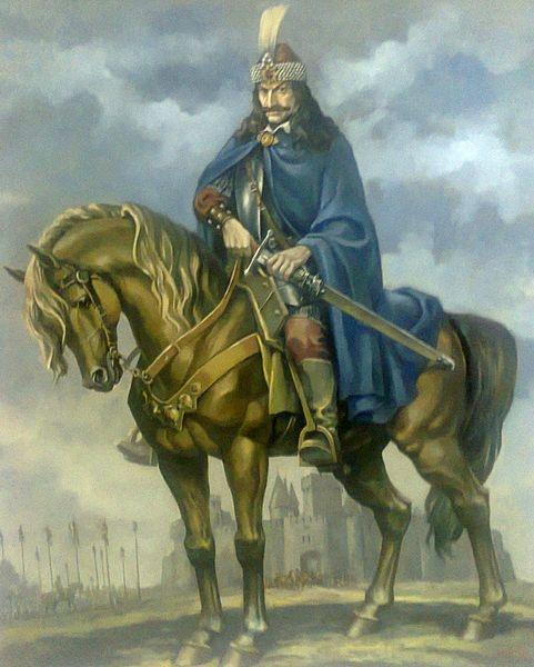 Vlad Ţepeş, pictură de Valentin Tănase
