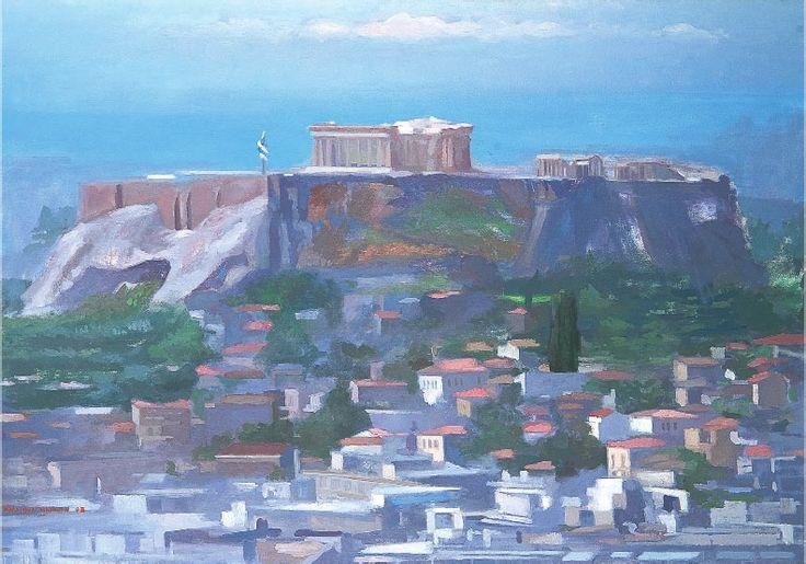 Καλλιρρόη Μαρούδα, Η Ακρόπολη