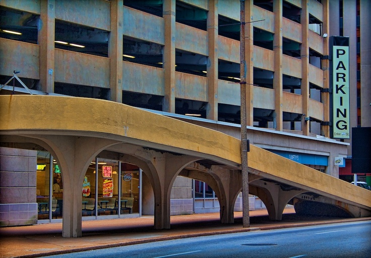 Macy 39 s parking garage downtown st louis meet me in st for Cost to build a garage st louis