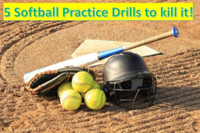 Shout out to Softball Enthusiastic! Here are 5 softball practice drills for you to totally kill it! http://www.awesomesoftballdrills.com/softball-practice-drills/