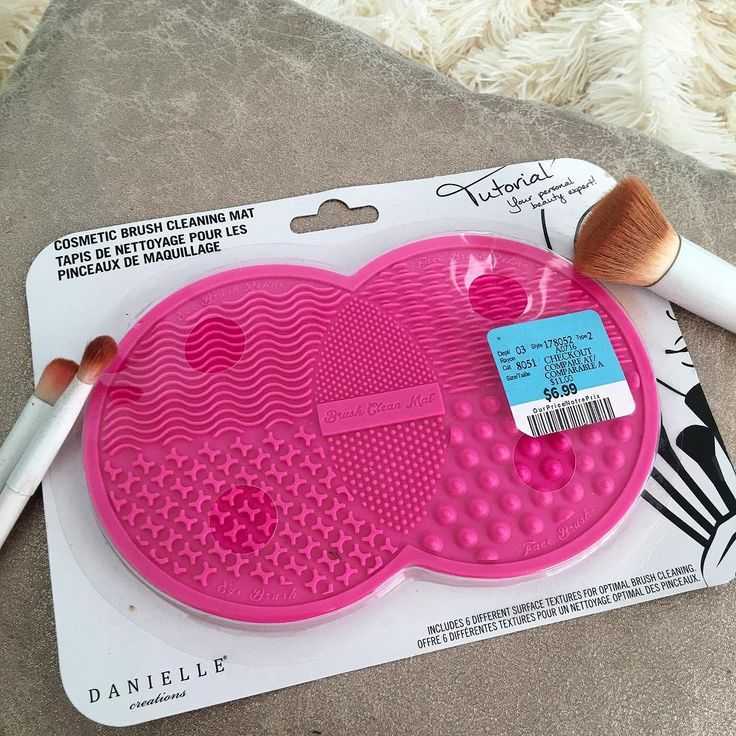 Sigma Brush Cleaning Mat Dupe! How to wash makeup