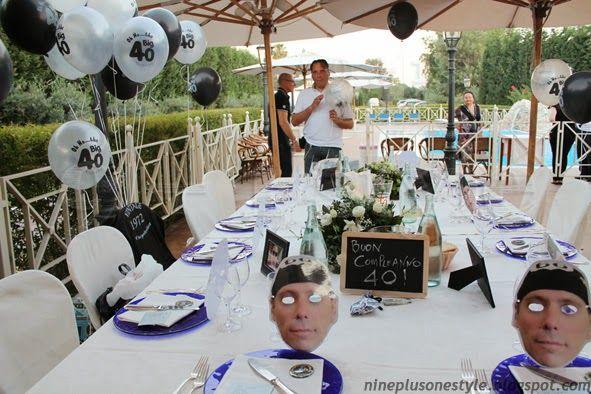 biker party -  table setting 9+1style: Piccole idee per un grande compleanno...Biker Style!!!