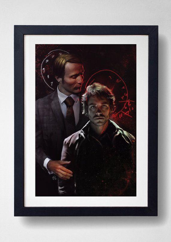 Folie à Deux  NBC Hannibal Print by elleisamonster on Etsy