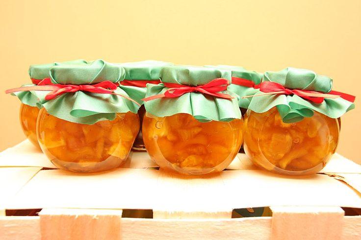 Borcanase dulceata de ananas cu vanilie
