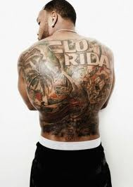 "FLO RIDA""s tattooes"
