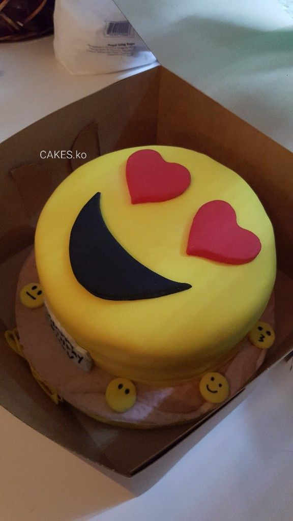 Made this chocolate emoji luv cake. Click link to my business page for more of my work.