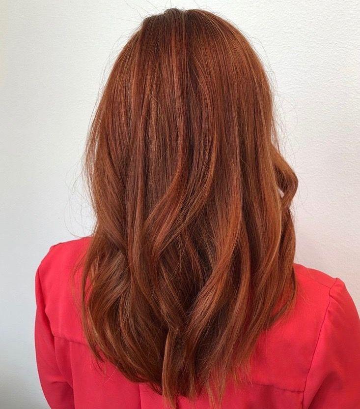 Vibrant Rich Red Hair Color Red Hair Color Hair Styles Hair Color Auburn
