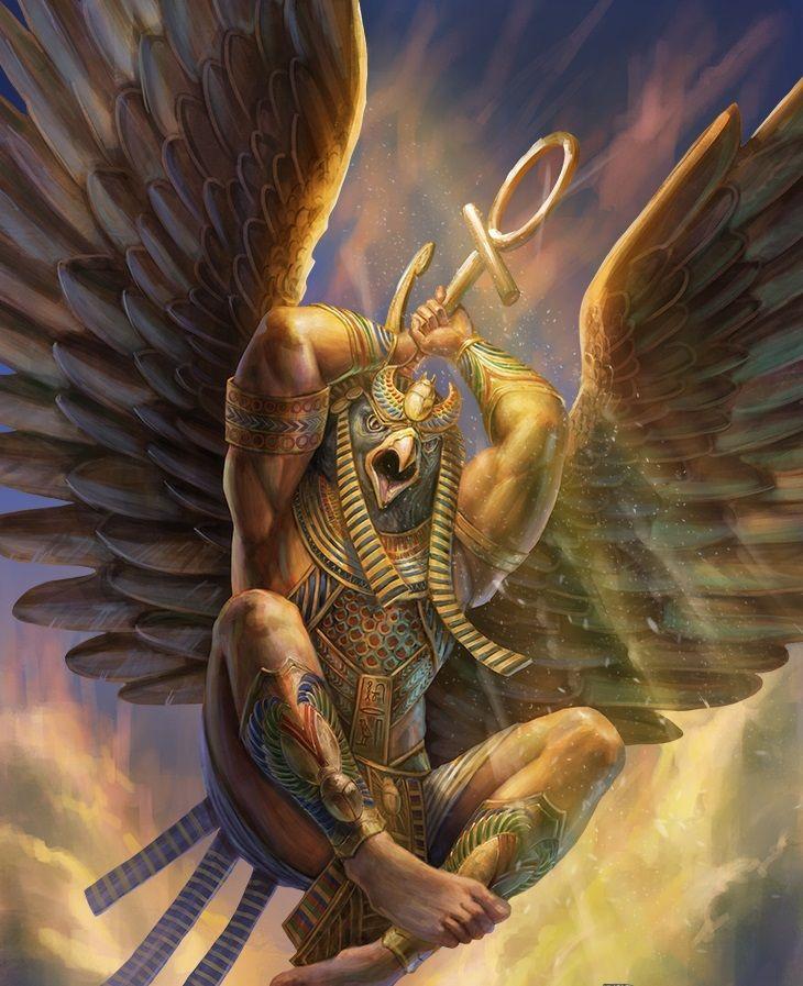 Antes que nada la mitología egipcia es muy compleja y difícil de entender, precisamente porque tiene muchas versiones de las historias de sus dioses...