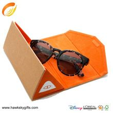 2015 New design packaging supplied customized sunglasses paper box packaging with tray
