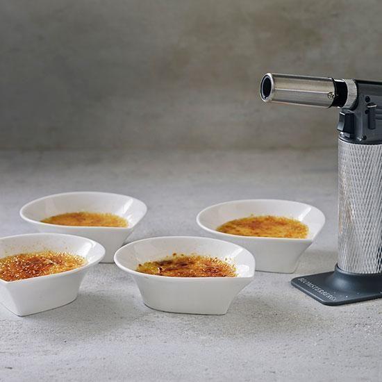 Crème brûlée | Se Mette Blomsterbergs opskrift. OBS: bagetiden skal være længere 40 min ca.