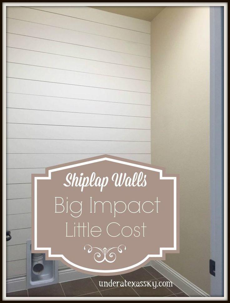 Shiplap Wall Bathroom Decor Pinterest Walls And