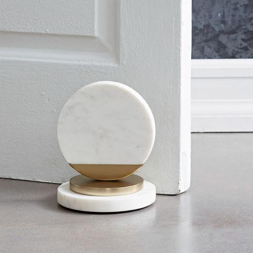 Marble doorstop