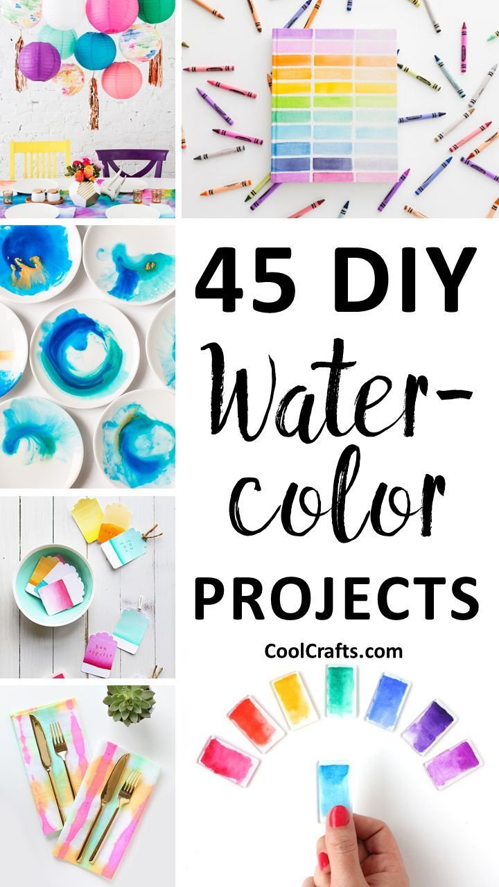 45 Diy Watercolor Projects Ideas You Can Try With Your Kids Diy