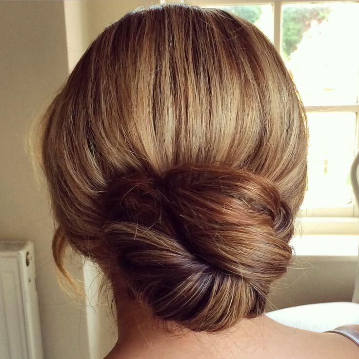 Slide Up Twist Bun by SweetHearts Hair Design