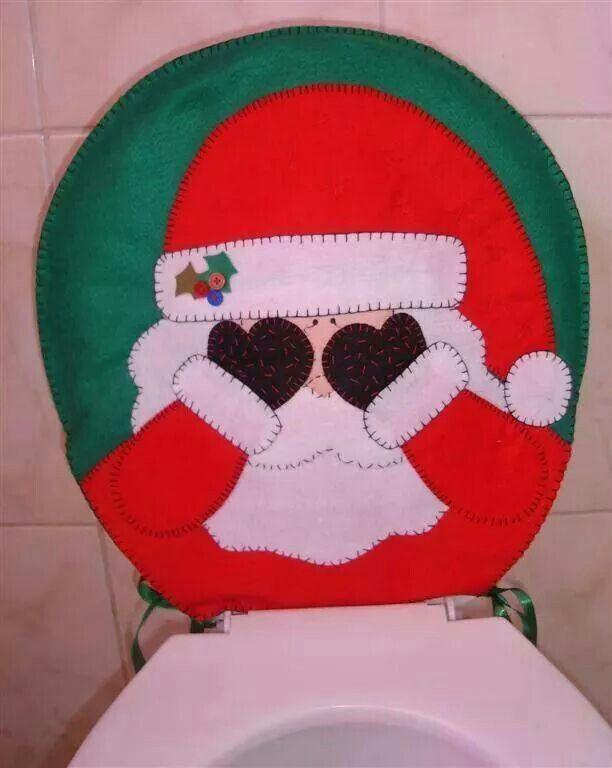 Juego de baño papa noel 2 | Craft Ideas | Pinterest | Papa Noel ...