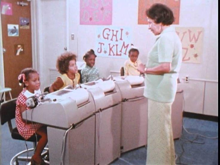 Teaching Children To Read Using a Computer - Richard Atkinson, 1973 - YouTube
