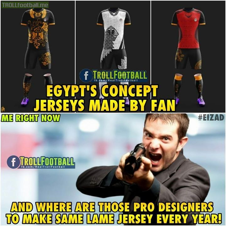 Adidas and Nike should be more creative! Like Troll Football Generation 👍