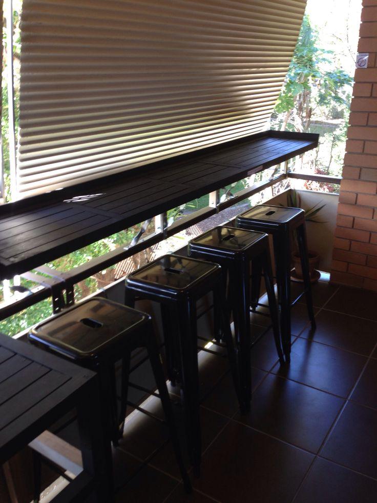 Timber Balcony Bar Project Ideas Pinterest Bar