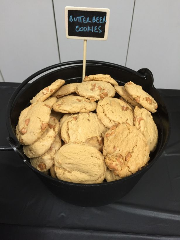 Harry Potter's Butterbeer Cookies #pickyourplum #chalkboardpick