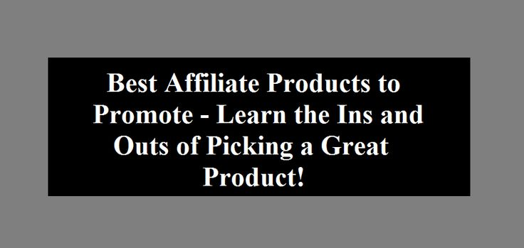 Find best affiliate products to promote by using the techniques mentioned in this post. Let your affiliate marketing efforts finally pay off.