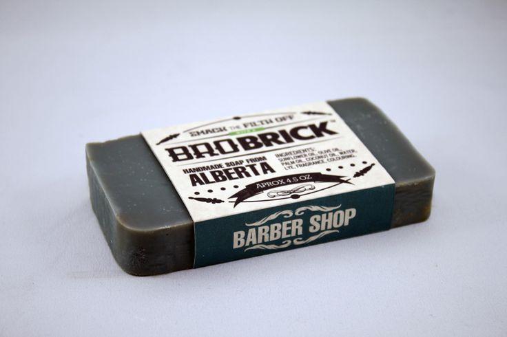 Barbershop scented man soap