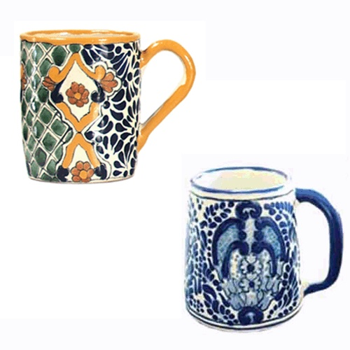 Nothing like a hot cup of coffee to start of the day! Serve it in one of our beautiful Talavera Mugs