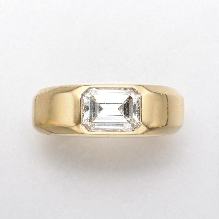 18k gold and diamond ring bulgari