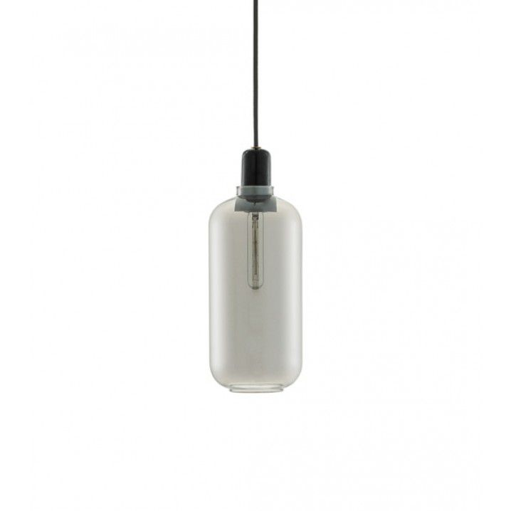 Amp Glass Pendant Lamp by Normann Copenhagen    Materials: Glass