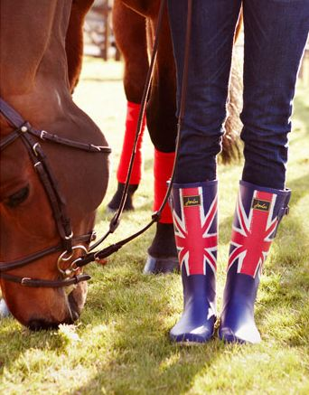 joules union wellies!