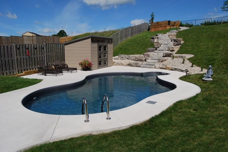 214 Best Inground Pools By Pioneer Family Pools Images On Pinterest