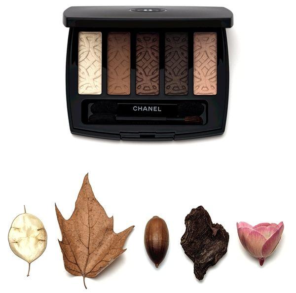 осень шанель 2015 палетка теней Chanel Entrelacs Eyeshadow Palette 2015