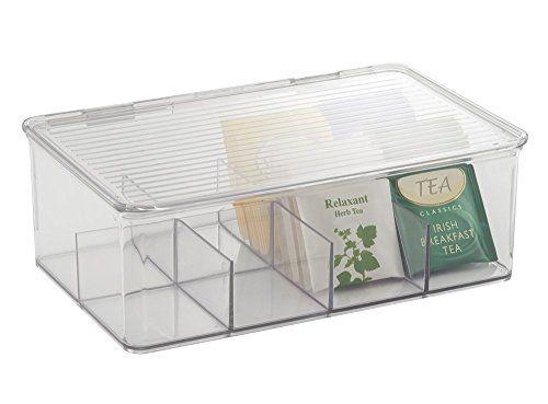 mDesign Tea Bag Single Serve Pouch Divided Box Holder Org... https://www.amazon.com.mx/dp/B00ZY3EY0U/ref=cm_sw_r_pi_dp_x_vVA0zb46924KW