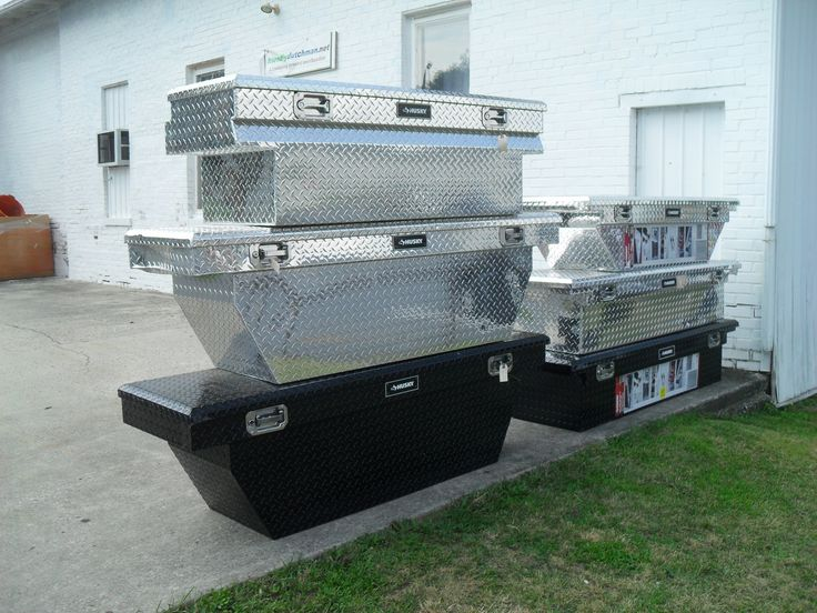 12 NEW HUSKY CROSSOVER PICKUP TRUCK TOOL BOXES - 6 ASSORTED MODELS