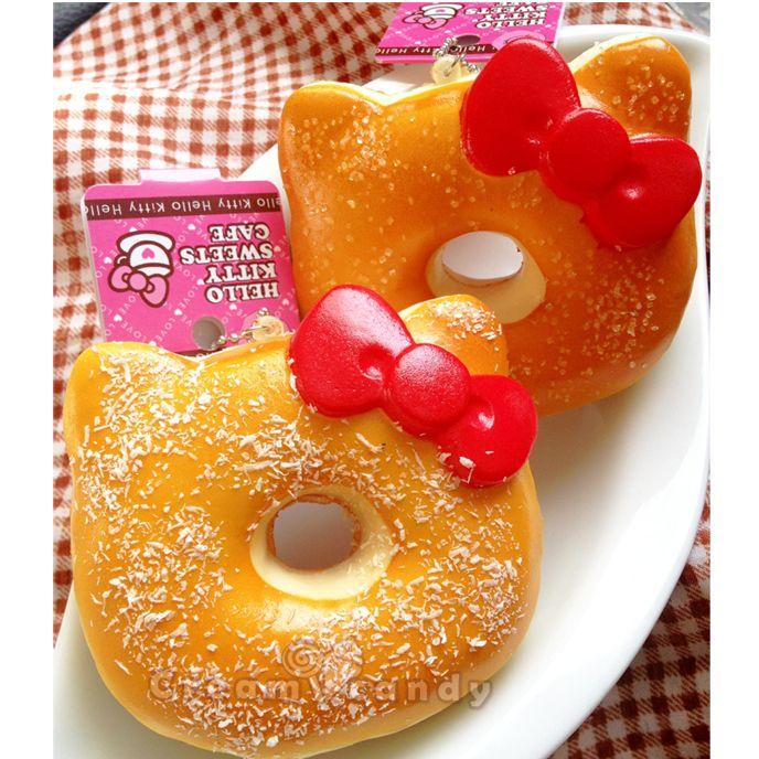 hello kitty like jumbo donut squishy buns bread kawaii stuff gifts unique girly online shop australia new zealand