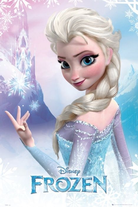 FROZEN - DISNEY MOVIE POSTER (ELSA)