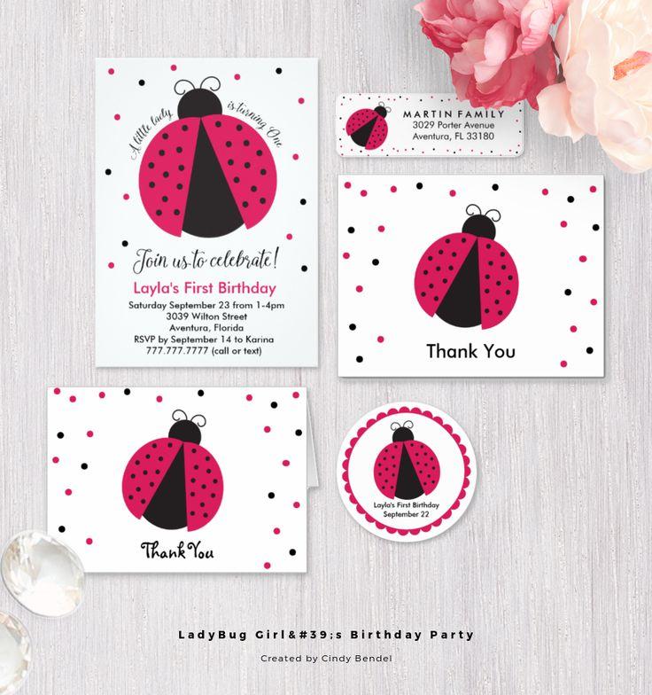 349 best Laura\'s 1st Birthday Ladybug Party images on Pinterest ...