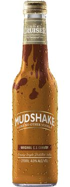 Vodka Cruiser Mudshake Original C.S Cowboy 270mL