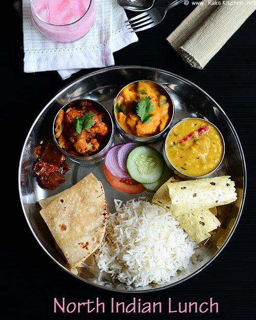 north-indian-lunch-menu by Raks anand, via Flickr