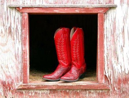 Stivali rossi: le foto e i modelli più alla moda | Shoes Stylosophy