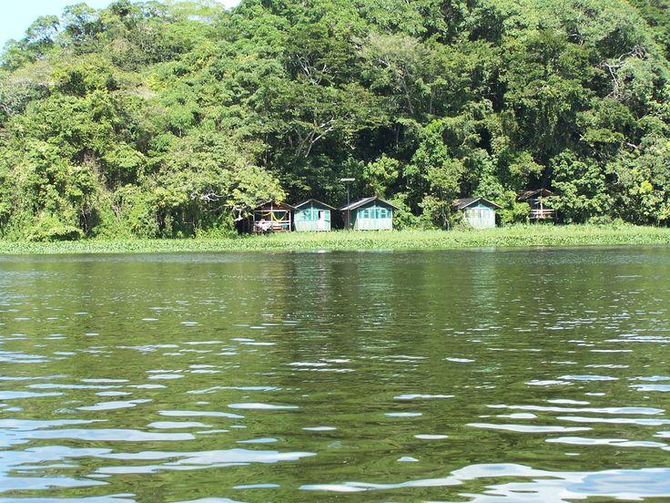 Cabañas para hospedaje en la reserva ecológica de Nanciyaga Catemaco Veracruz