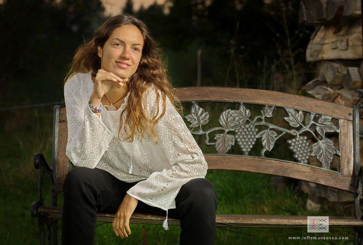 100 % handmade Romanian embroidery - folk costume - peasant blouse -vishivanka - traditional clothes bohemian boho style worldwide shipping #vyshyvanka #romanianblouse #ia #ieromaneasca #bohostyle #bohemian #fashion #embroidery #handmade