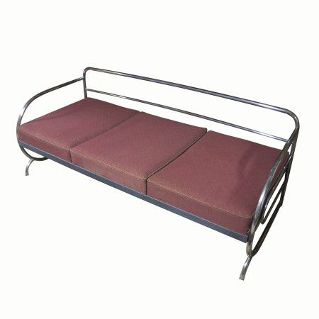 Chromed Bauhaus sofa