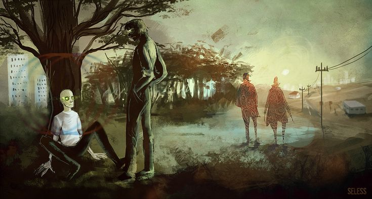 About jumpers and walkers by Seless.deviantart.com on @deviantART