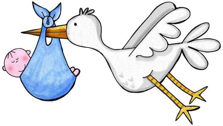 ¿No hay Baby Shower sin cigüeña, verdad? Esta es perfecta para tus invitaciones, no lo dudes y busca lo que necesites en nuestra web: www.mamaeva.net