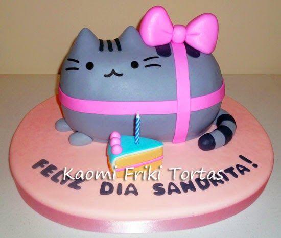 Pusheen cake  Celebration Cakes  Pinterest